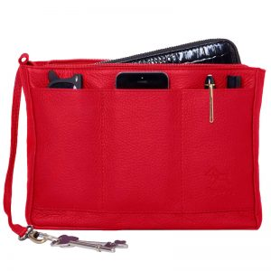 RedDog Leather BagPod Bag, Red